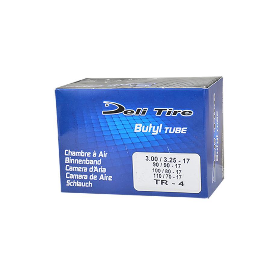 Valve Droite Chambre air Moto 17 3.00-3.25x17-100//110x80x17 Deli