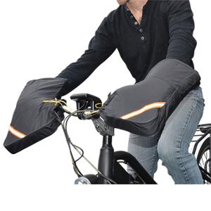 MANCHON SCOOTER / CYCLO / VELO STANDARD DOUBLURE FOURRURE (PAIRE)