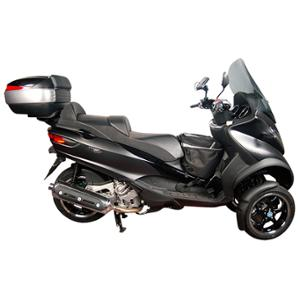 PORTE BAGAGE / SUPPORT TOP CASE MAXI SCOOTER SHAD ADAPT. 125 / 500 MP3 SPORT BUSINESS 14->17