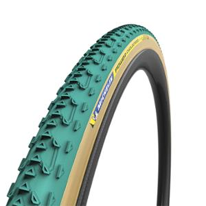 BOYAU CYCLOCROSS 700X33 MICHELIN POWER JET VERT / BEIGE (33-622)