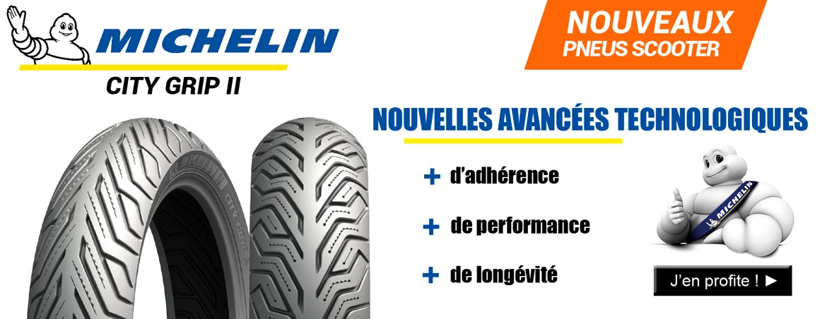PNEU MICHELIN CITY GRIP 2